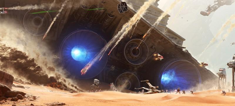 Стрим Battle of Jakku в Star Wars: Battlefront + трейлер