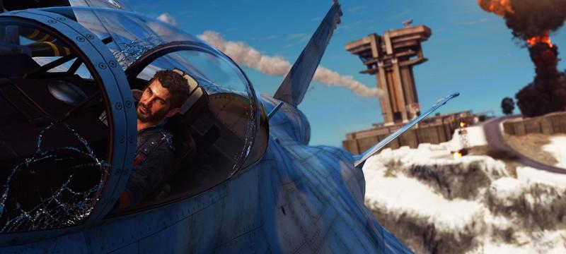 Вингсьют с миниганом в новом DLC Just Cause 3