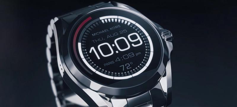 Дизайнер Майкл Корс представил свои умные часы