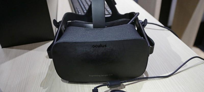 Первые проблемы Oculus Rift начались