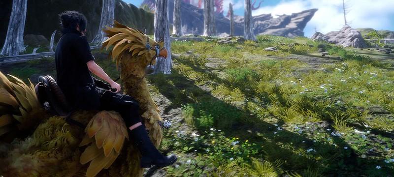 Геймплей Final Fantasy XV: вождение, битвы, чокобо