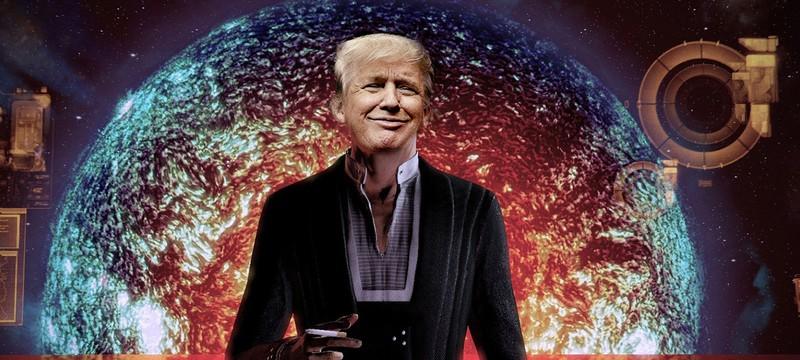 Дональд Трамп думает, что он Шепард из Mass Effect
