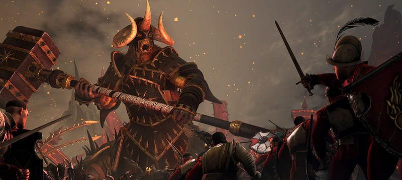 18 минут геймплея Total War: Warhammer: Империя против Хаоса