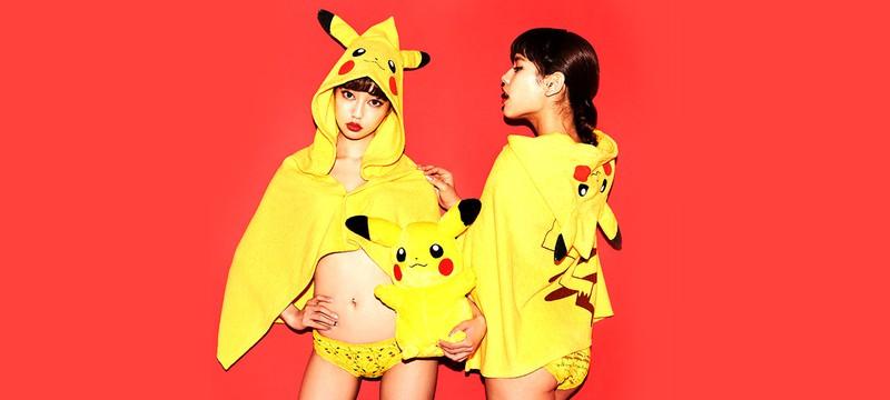 Линия бюстгалтеров и трусиков Pokémon для девушек