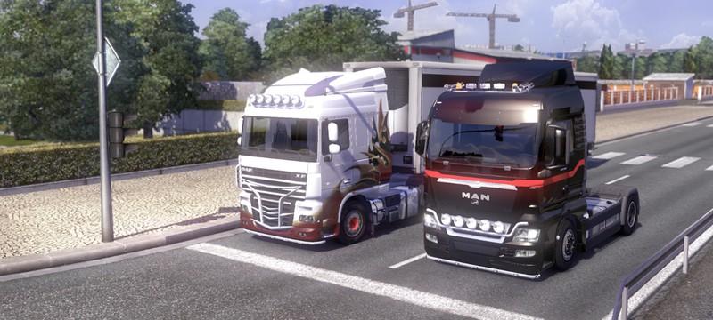 На грузовиках по миру с Steam Workshop