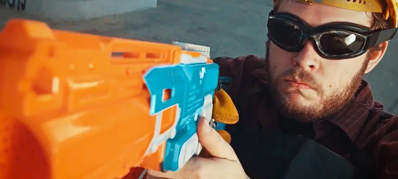 Team Fortress 2 в реальности с нерф-пушками