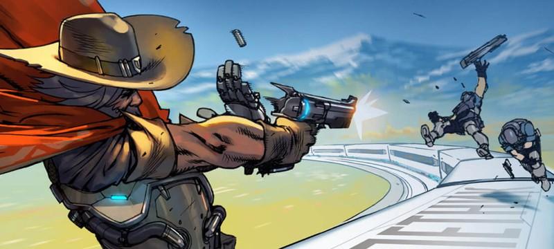 Короткий комикс Overwatch: МакКри