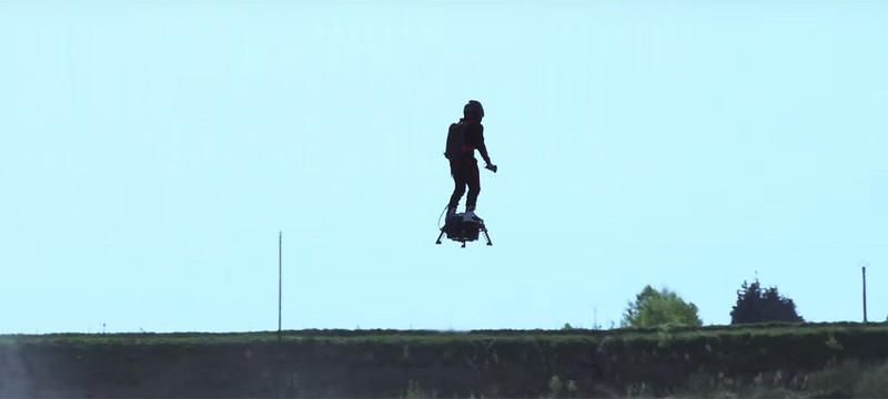 Реальный ховерборд поставил мировой рекорд