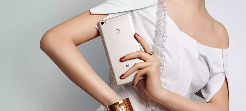 Xiaomi представила настоящий фаблет — Mi Max