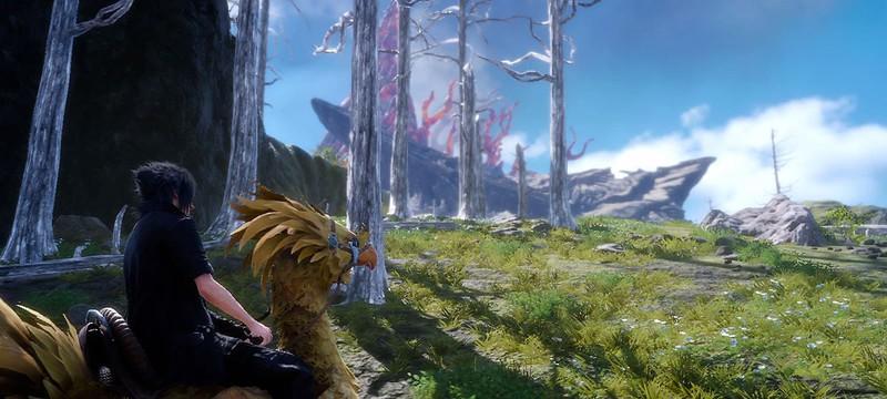 Трейлер Final Fantasy XV — Красоты мира