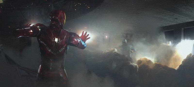 Концепт-арты финальной битвы Civil War