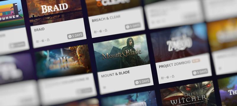 Вы можете импортировать некоторые игры из Steam в GOG