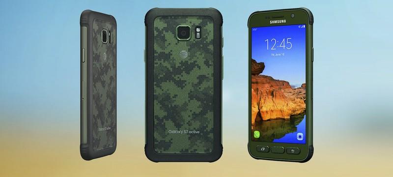 Samsung представила защищённый Galaxy S7 Active