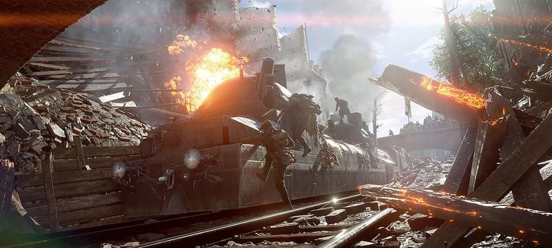 Час геймплея Battlefield 1 в режиме Захват на 64 игрока