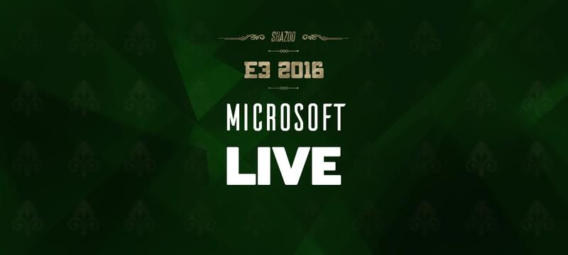 E3 2016: Конференция Microsoft в прямом эфире