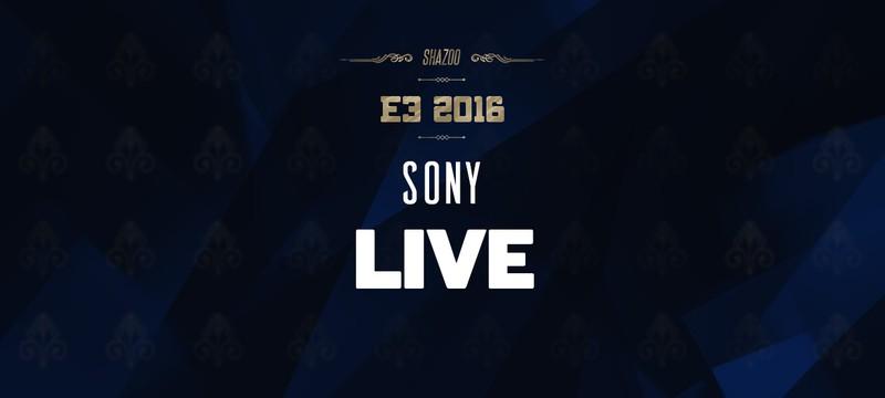 E3 2016: Конференция Sony в прямом эфире