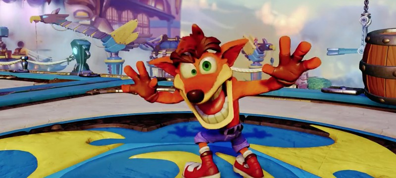 E3 2016: PS4 получит ремастеры Crash Bandicoot 1-3