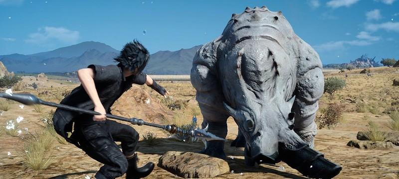 Новые красочные скриншоты Final Fantasy XV