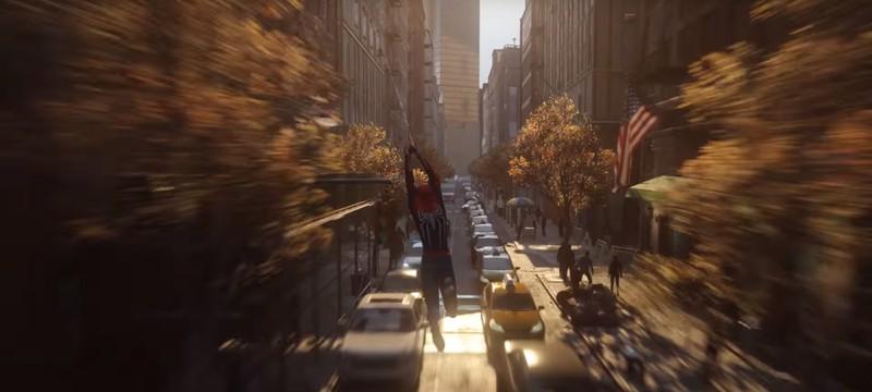 Ролик SpiderManPS4 не является пререндером