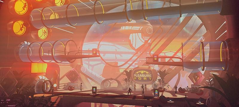 Работай головой — новый геймплей  Headlander