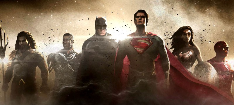 Новое лого и синопсис Justice League