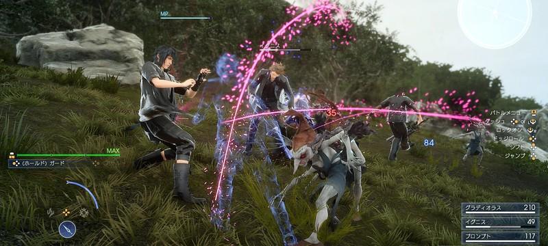 Скриншоты из PC-версии Final Fantasy XV