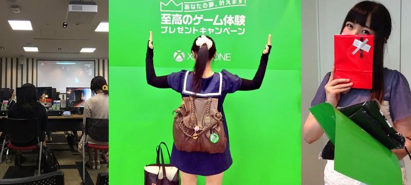 Microsoft провела самый грустный Xbox One-девичник в Токио