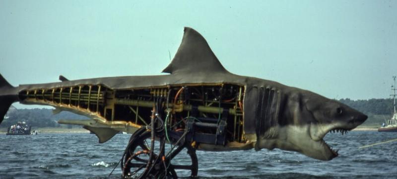 Спилберг считает, что спецэффекты испортили бы фильм Jaws