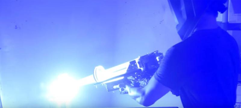 Лазерная пушка — это вам не игрушка