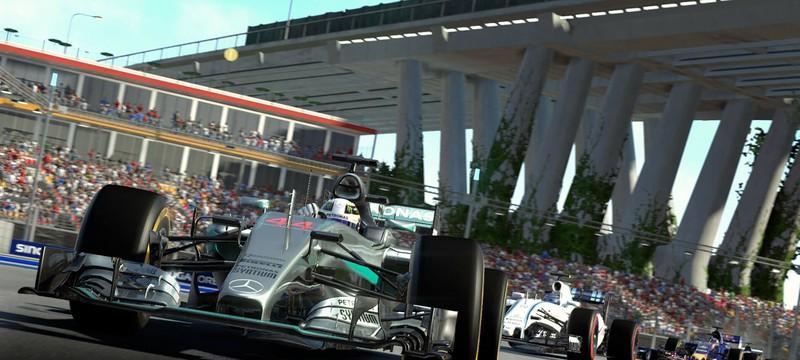 Красоты австрийского трека в F1 2016