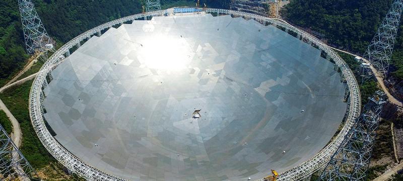 Китай построил крупнейший в мире радио-телескоп