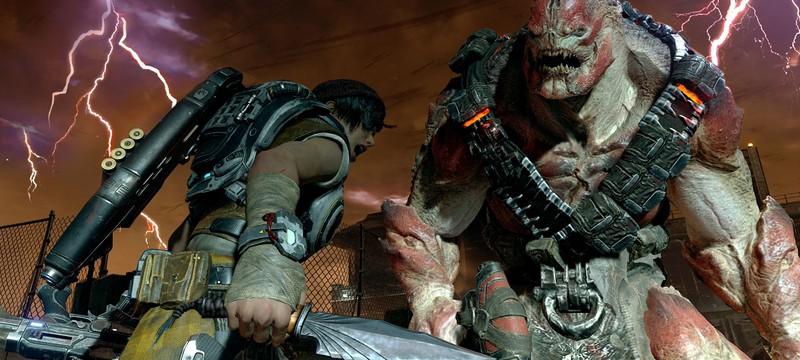 Xbox One S в стиле Gears of War 4