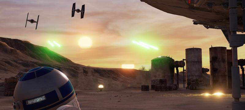 Star Wars добрался до VR
