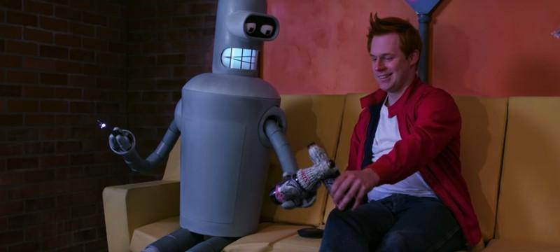 Невероятно крутой фанатский лайв-экшен Futurama