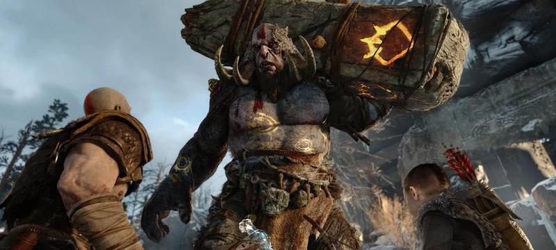 Кратос и ярость в God of War