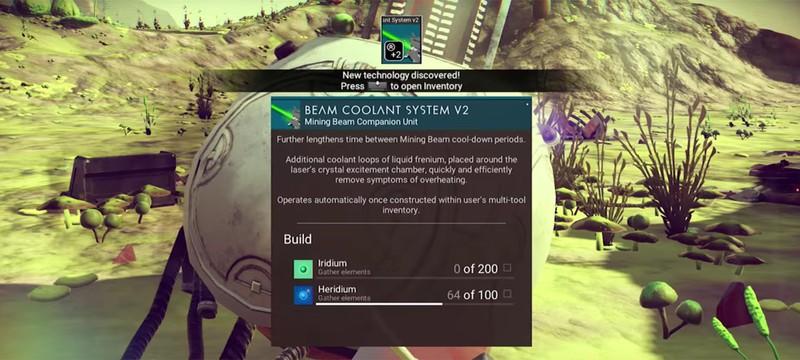 Интерфейс No Man's Sky напоминает Destiny