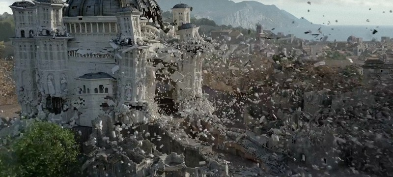 Спецэффекты финала сезона Game of Thrones