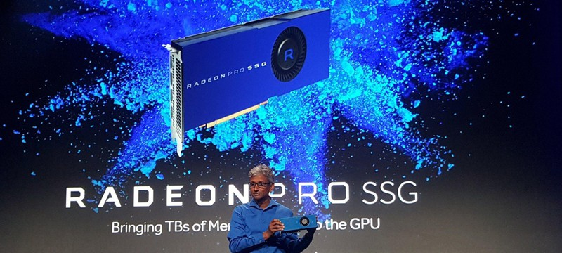 AMD представила GPU с 1 Тб SSD-памяти