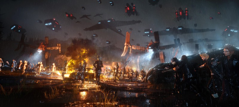 Гора технических роликов Final Fantasy XV