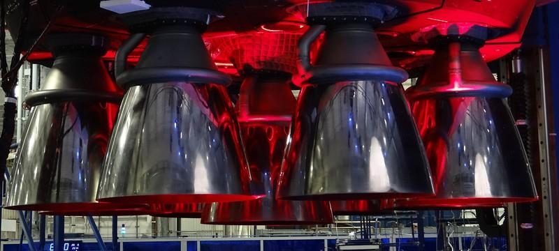 SpaceX провела повторный тестовый запуск двигателей Falcon 9
