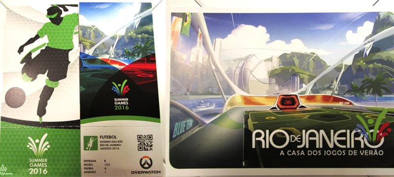 Детальный взгляд на тематические вещи Overwatch в честь Олимпиады Rio 2016