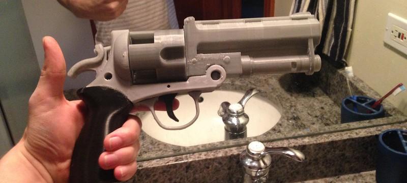 Напечатанный на 3D-принтере револьвер с патронами обнаружен в аэропорту США