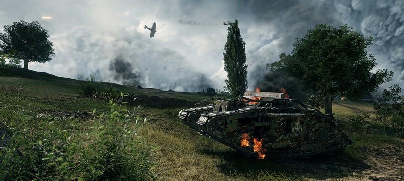 Новый трейлер Battlefield 1 — техника