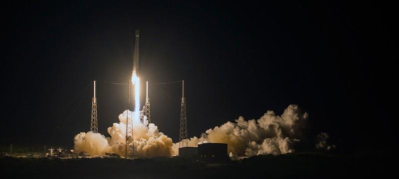 Шестая успешная посадка Falcon 9 от SpaceX