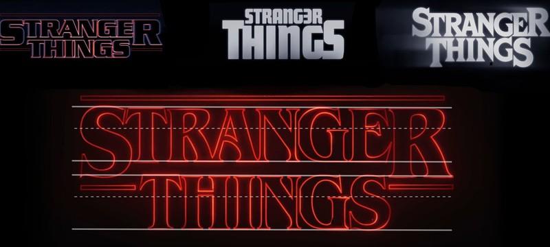 Создание вступительных титров Stranger Things