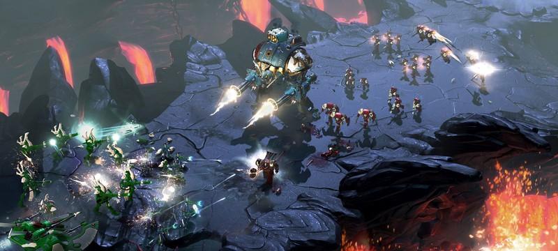 Полчаса кровавых сражений в новом геймплее Warhammer 40,000: Dawn of War III