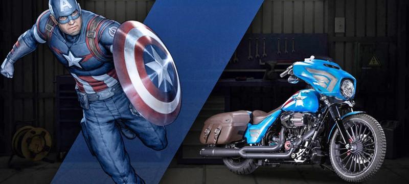 У каждого супергероя должен быть свой Harley-Davidson