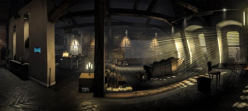 Посмотрите на эту древесину в Deus Ex: Mankind Divided!