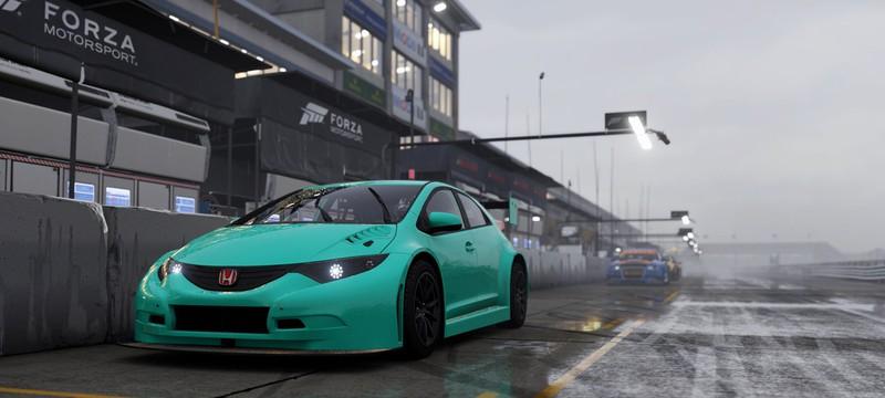 Forza Motorsport 6: Apex поддерживает управление рулем