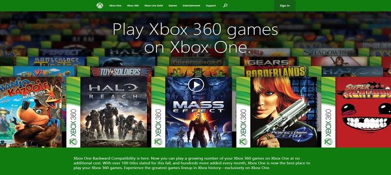 Microsoft добавила новые игры обратной совместимости для Xbox One